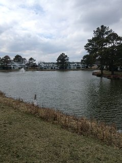 Quiet and relaxing,  Lake front townhouse, close to Maryland and Deleware beache