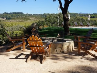 Wine country get away.  Pool/Bocci/great views of ChalkHill Vineyards/sleeps 8