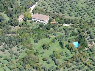 Florence  Countryside Independent Apartment with  Pool