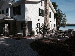 Fabulous Glen Lake Vacation Home 6 Bedrooms & 8 Baths - 200 ft shoreline & beach