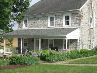 Experience life down on the farm in this 1790's farmhouse with modern amenities.