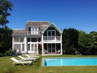 Architect Designed Home with Heated Pool near Bridgehampton Village