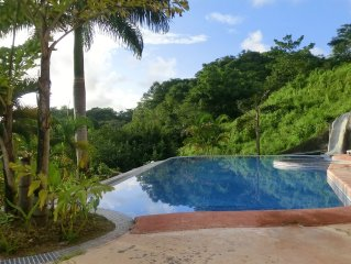 Absolute Stunning Ocean/Jungle View,5 Min. Walk to Beach/Town