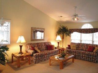 AVAILABLE Jul 29-Aug 5!!  HUGE 2-Family in Sea Trail (2 Villas + Mini-Suite)