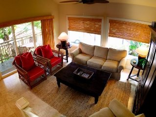 Awesome 4bd sleeps 8 guests! (AC), Beautiful and Comfortable!  Poipu Kai Resort