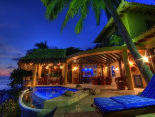 Spectacular, Oceanfront Home In Private, Magical and Safe Community
