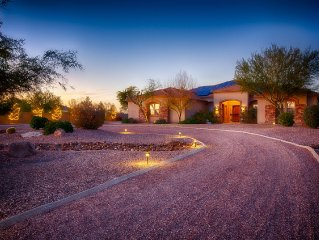 Custom home, close to hiking trails and Spring Training
