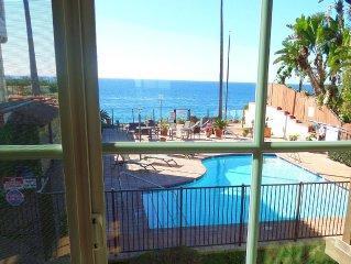 San Diego North Coastal Oceanfront Condo, Direct Beach Access, Jacuzzi, Pool