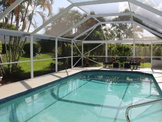-Private Upscale PGA National Gated Pool home, 10 mins to beach