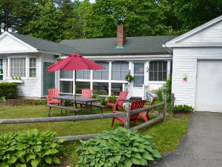 Ogunquit Village home with pool, walk to beach!