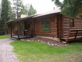 The Elk Antler Lodge Wilderness Cabin welcomes families, groups