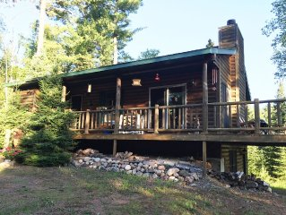 Private & Quaint Cabin in Mercer.  Close To Town With Many Northwoods Amenities.