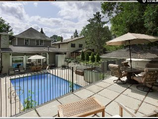 Luxury Home With Private Pool. Great, High-walkability Neighborhood!