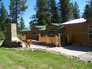 Tahoe Ranch with Modern Residence & Historic Cabin! Horseback riding! 600+acres!