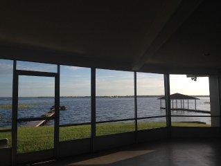 Casual Comfort Lake Front Home / Lake June