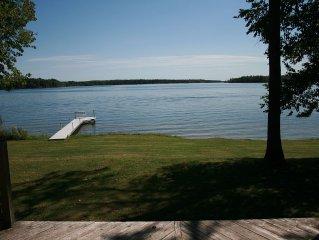 Lake Pokegama! Level Lakeshore! Incredible View! (Cabin 1 of 3; Sleeps 6)