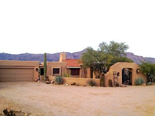 Views Of Superstitions And Dinosaur From Your Very Private Back Patio.