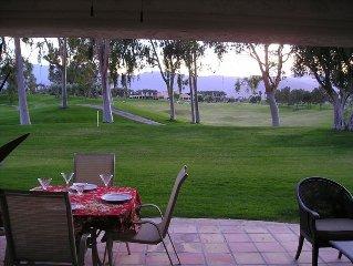Beautiful golf course and San Jacinto mountain views, great location
