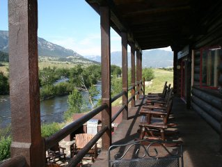 Executive Lodge -1 mile Stillwater River-Two Rivers Lodge-Montana fly fishing