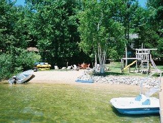 Maple Woods Cottage on Beautiful Bass Lake