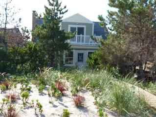 Ocean Front House with a Private Beach and Dune Garden