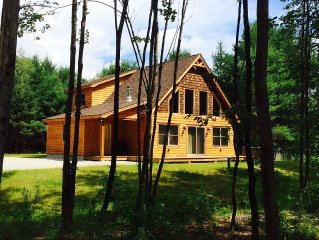 Riverfront Ski Chalet Cabin only minutes to Sunday River Resort & Trails Galore!