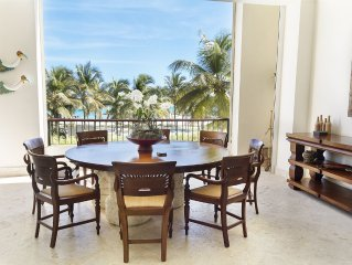 Capcana Beach Condo;4 BR;2 Identical Masters;Maid Inc; golf/beach;fully screened