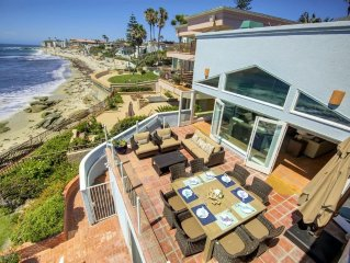 WOW - Oceanfront with Direct Beach Access with a Pool, Spa!