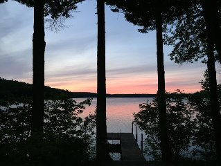 Birch Point - Lake Front House Rental in Poland, Maine