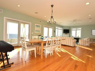 Beautiful large 6 bedroom bayfront house in Seaside Park