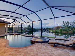 Villa Rosalinda *** New Home *** Waterfront, Pool & Spa, Great Views, Boat Dock