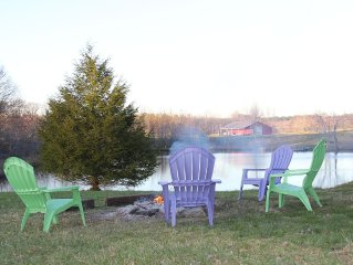 Fall Creek Falls 4 Serene Acres / Book now...spring & summer nights fill up fast