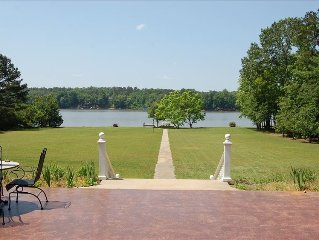 Majestic 5 Bedroom Lakefront Home Nestled on 8 Acres of Land!