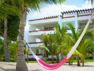 Gorgeous 2BR Condo Directly on the Perfect Cozumel Beach!!!!!