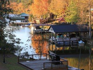 Beautiful Lake Tuscaloosa Luxury Waterfront Home