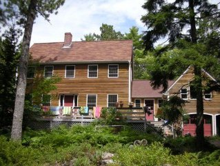 Ideally Located, gorgeous home, beautiful 2+ acre property, small pond in front