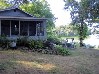 Classic & Charming Cabin! Scenic Prairie Lake/Chetek, Family Vacation, Fishing