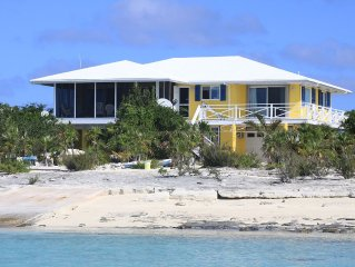 Beautiful Beachfront Paradise Home w/70' dock, elec/water, Now Available