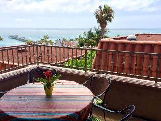 Duplex w/ Spectacular Ocean View - Steps to San Clemente Pier, Beach & Downtown
