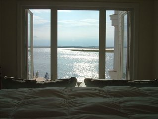 Sweeping Waterfront & Sunset Views, Captain's Quarters ~ September is lovely!