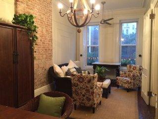 Beautiful Historic 5 BR / 2.5 Bath Harlem Brownstone For Rent!!!