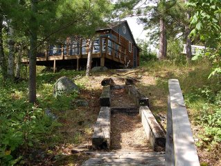 Lake Vermilion Cabin with Bunkhouse-- Pet-Friendly, Sleeps 5