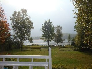 Waterfront Property on Lake Flower