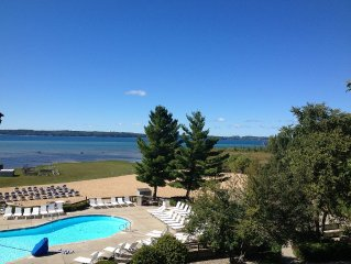 Located on Grand Traverse Bay minutes from Traverse City!