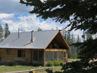 Bluebird Cabin In Stanley, Idaho