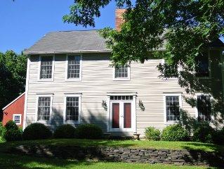 Beautiful Designer home on 8 acres. Come hike, ski or Antique on Warren Street.