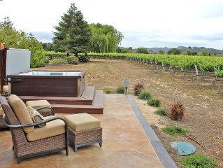 Beautifully Constructed Casita In the middle of Bobcat Vineyard in Edna Valley