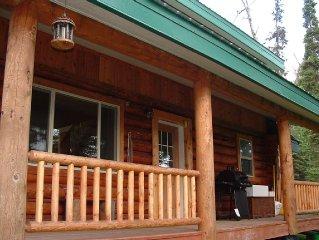 Beautiful Log Cabin Retreat.  Close Access To Kenai River/Bings Landing Park