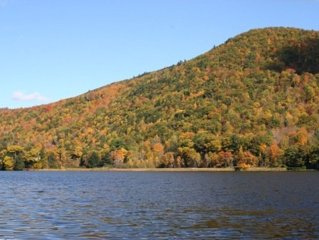 Lakeview: Comfortable Lakefront Cabin between Okemo & Killington