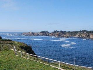 Ocean Front Property ~ Mendocino, Ca
